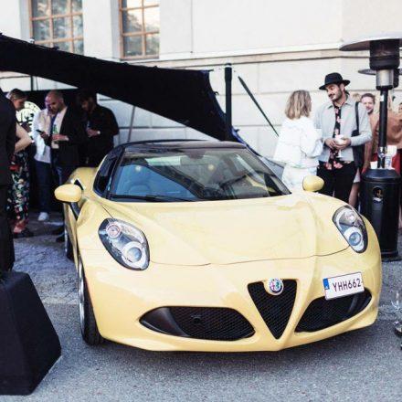 Nordic Stretch Tents - Alfa Romeo