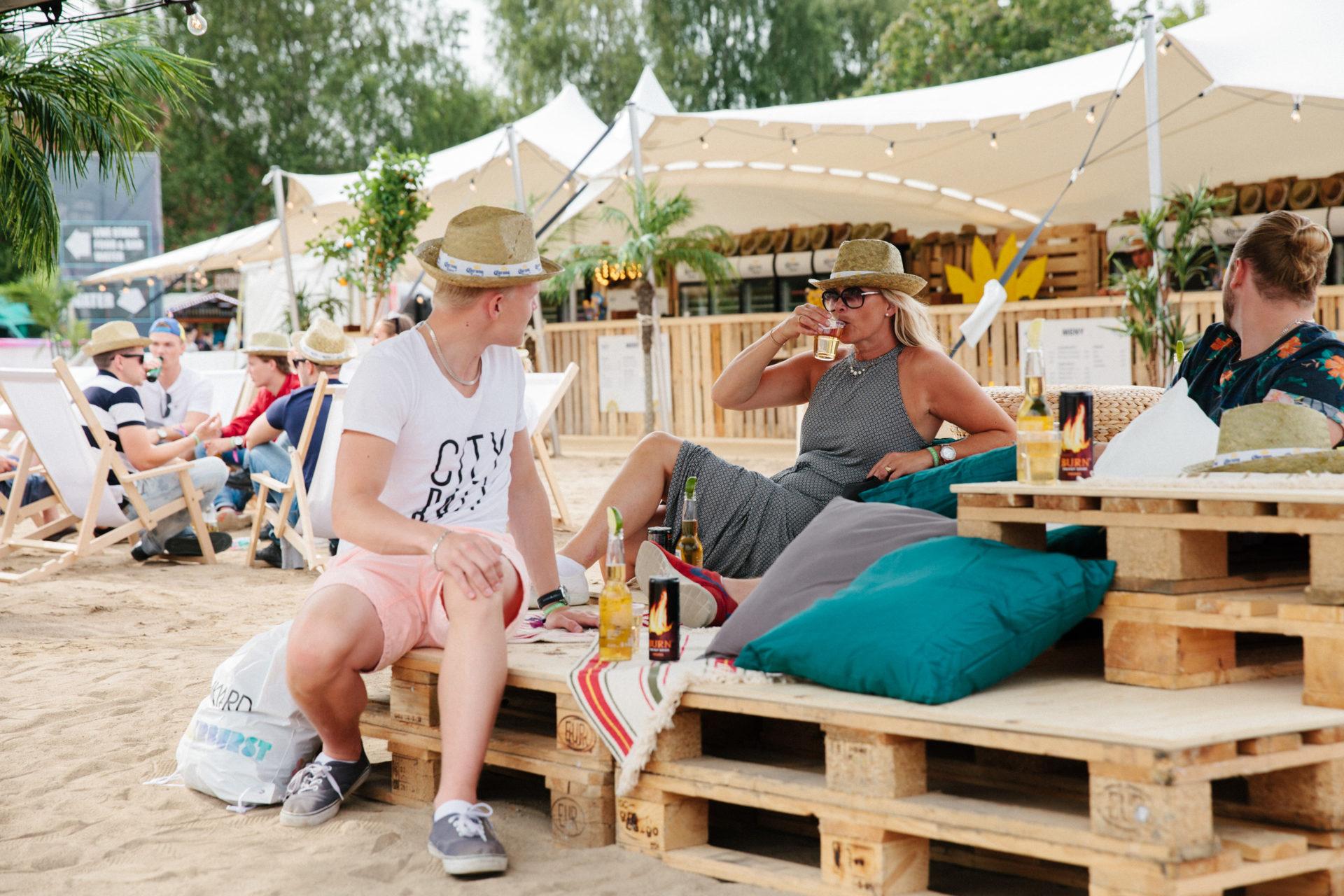 Nordic Stretch Tents - Uthyrning festivaltält