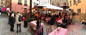 Nordic Stretch Tents - Italian Pizza Client