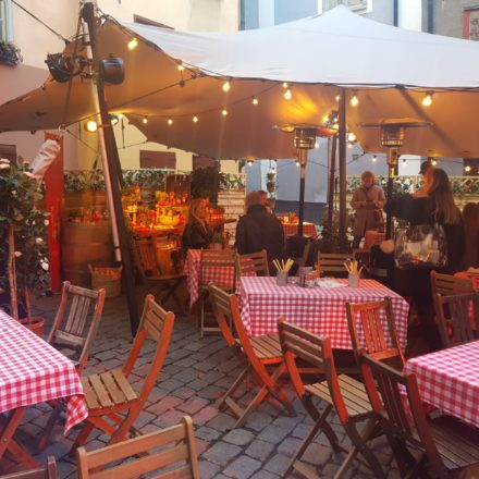Nordic Stretch Tents - Italian Pizza Client