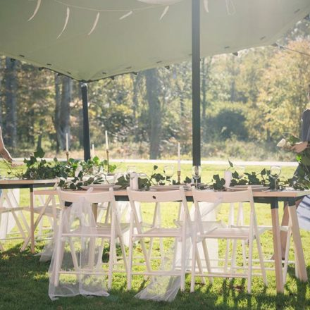 Nordic Stretch Tents - Tables and Chairs