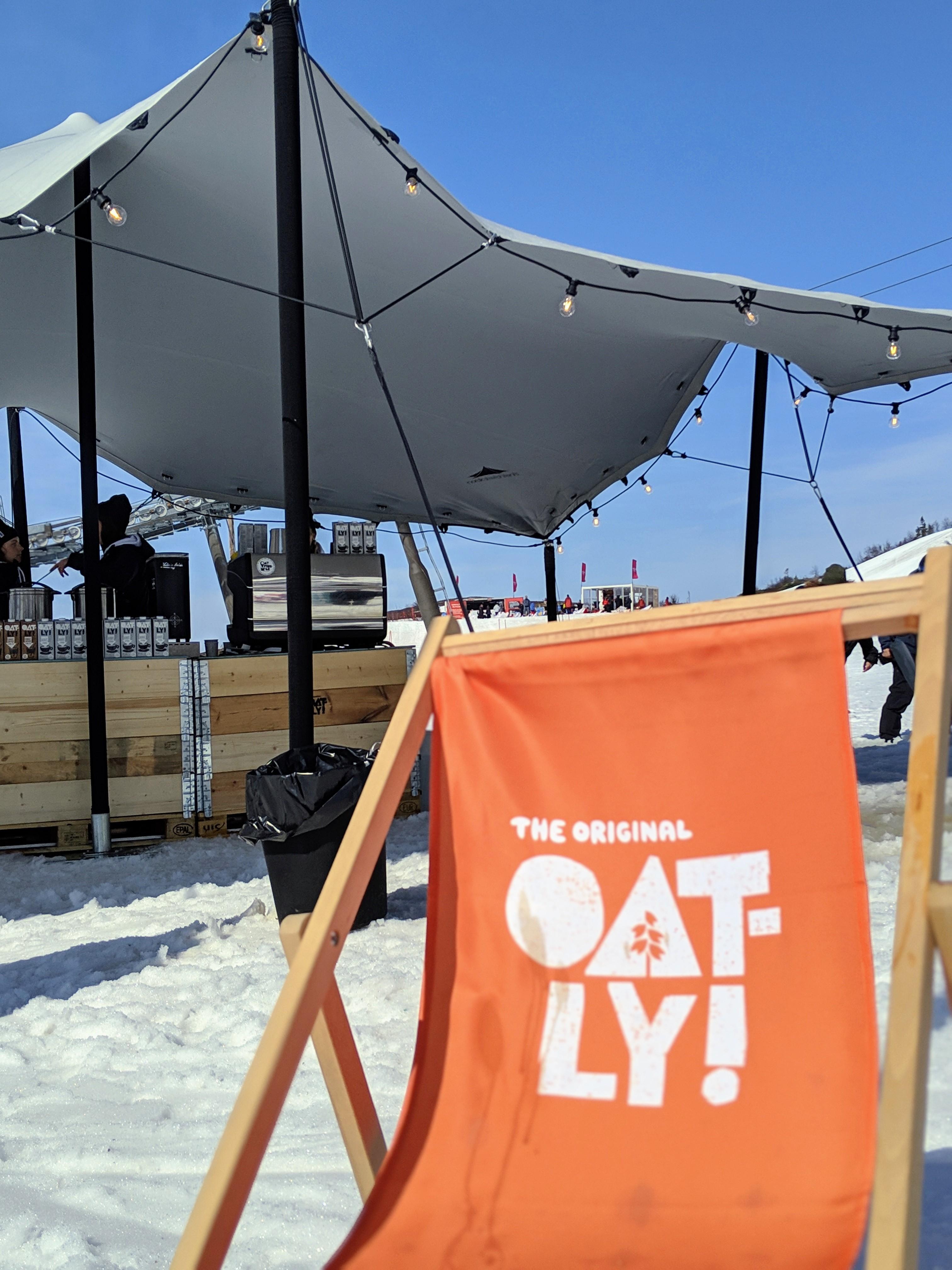 Oatly, Åre Sessions | Trädgårdsfest, Pop up, Tält